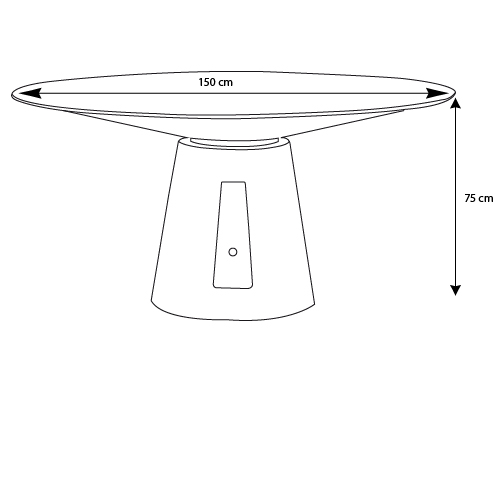 Table a manger dimension maison design - Dimensions table a manger ...