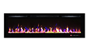 Chemin�e �lectrique encastrable 254 cm - Kamin black NICE 100