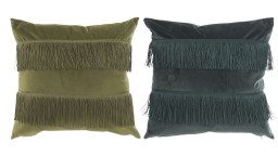 Delhi Lot de 2 coussins polyester 45 cm x 45cm