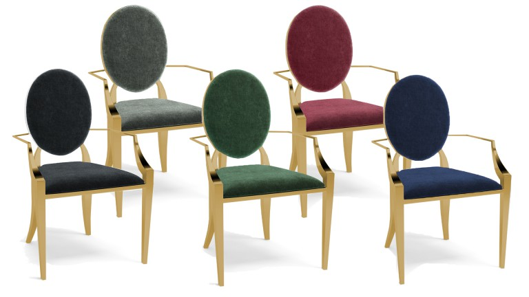 Ensemble baroque velours palmyr dor mobiliermoss