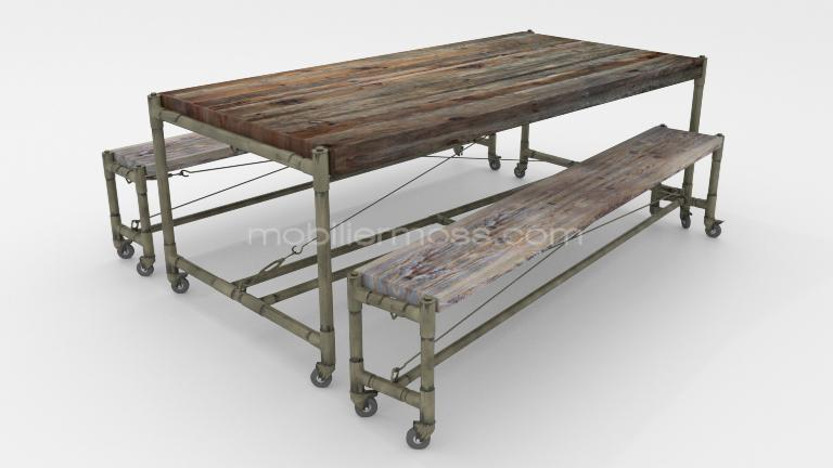 Factory Table bancs