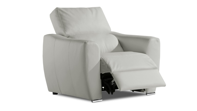 beautiful fauteuil relax cuir gris iris agueda with mobilier moss lyon. Black Bedroom Furniture Sets. Home Design Ideas