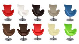 LA on fauteuil design composition cuir