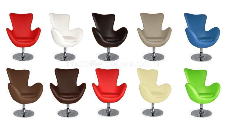 fauteuil contemporain propos en 6 coloris l on mobilier moss. Black Bedroom Furniture Sets. Home Design Ideas