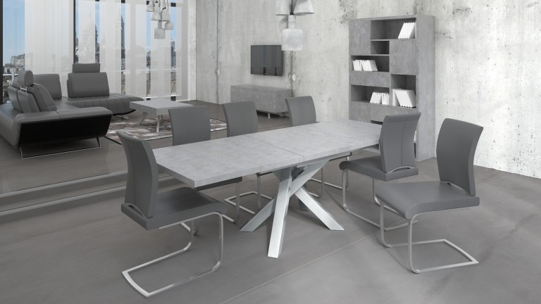 Grande table salle a manger design maison design for Grande table salle a manger