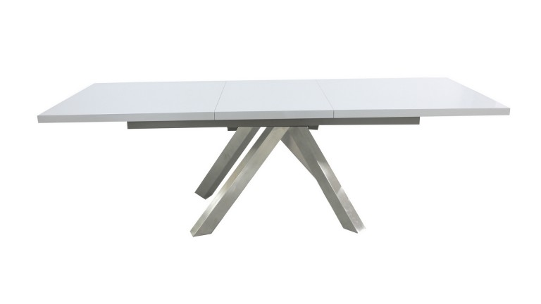 Roma table salle manger blanche