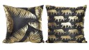Savana Lot de 2 coussins polyester 45cm x 45cm