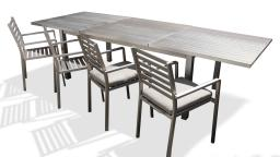 Table jardin metal Irwan mobiliermoss