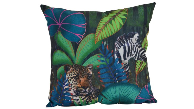 Tropical Coussin polyester 45 cm x 45 cm