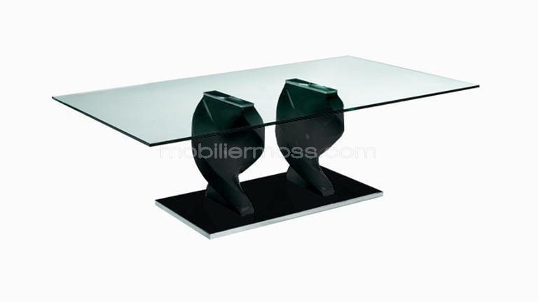 table basse plateau verre noir. Black Bedroom Furniture Sets. Home Design Ideas