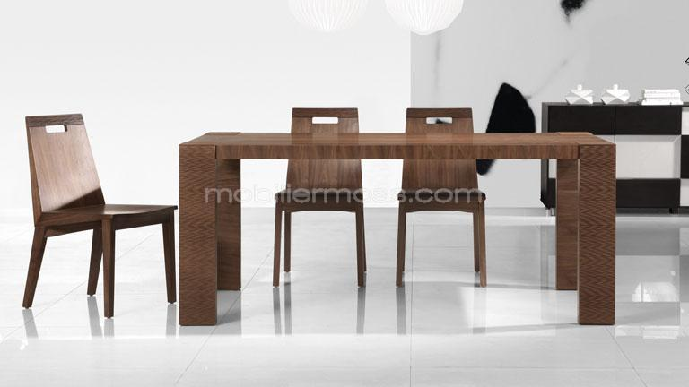 table de s jour contemporaine en bois alceo mobilier moss. Black Bedroom Furniture Sets. Home Design Ideas
