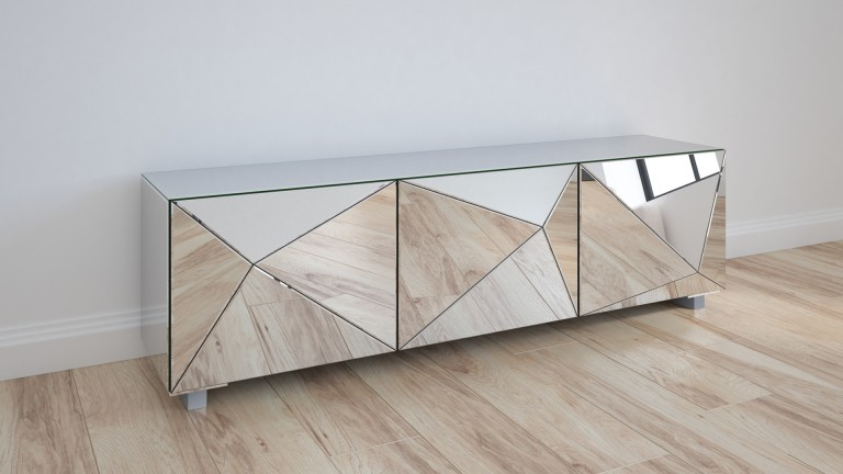 Meuble tv miroir design mobiliermoss