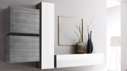 ambiance meuble tv etagere maple grey suspendu mobiliermoss