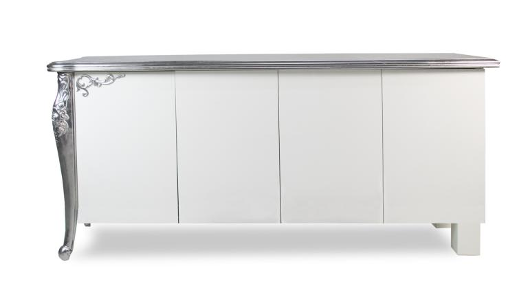 Buffet blanc ikea beautiful buffet blanc laque ikea with for Bahut table