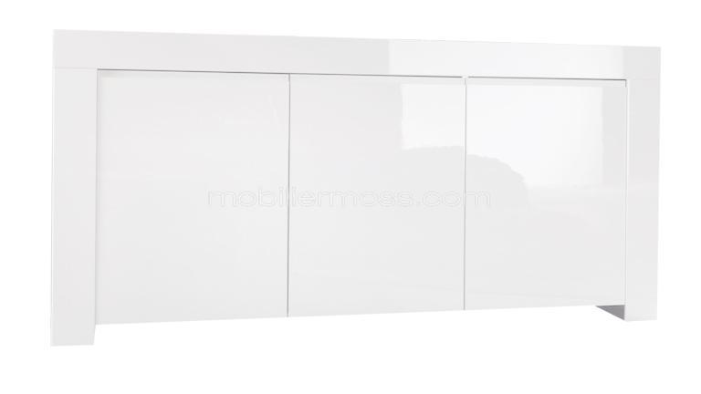 Laque blanc brillant - Buffet ikea blanc laque ...