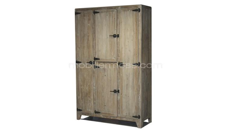 bahut en bois 4 portes hautes raymond mobilier moss. Black Bedroom Furniture Sets. Home Design Ideas