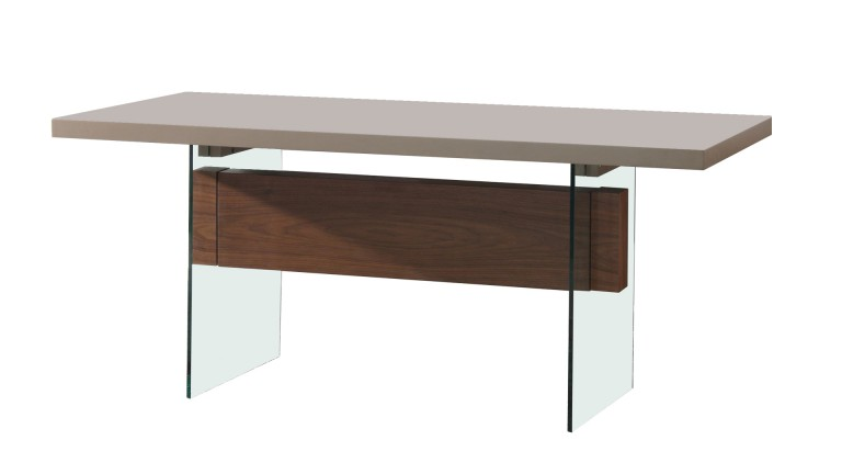 bureau pied verre mobiliermoss friendly