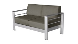 canape 2places aluminium orolo mobiliermoss