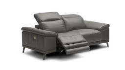 canape 2places relax electrique cuir anthracite9019 juktan mobiliermoss
