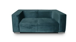 canape 2places velours canard659 morys mobiliermoss
