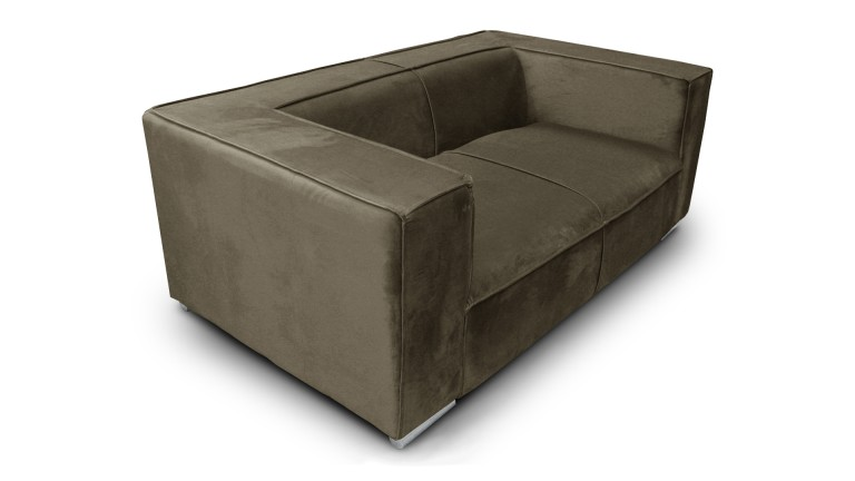 canape 2places velours taupe656 morys 2 mobiliermoss