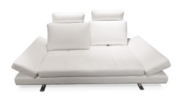 canape 3 places cuir blanc mobiliermoss