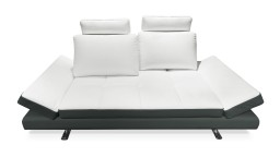 canape 3 places cuir blanc mobiliermoss bas anthracite maxho mobiliermoss