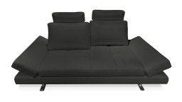 canape 3 places cuir noir mobiliermoss maxho mobiliermoss
