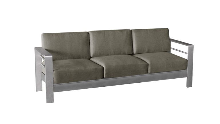 canape 3places aluminium orolo mobiliermoss
