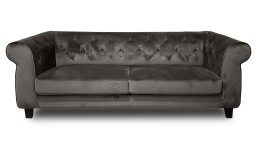 canape 3places chesterfield velours N83 taupe eriko 1 mobiliermoss
