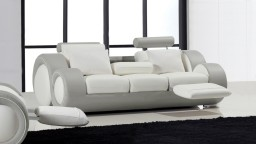 canape 3places cuir blanc782 cote gris728 pierce mobiliermoss