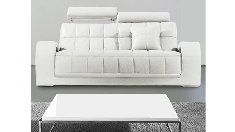 canape 3places design cuir vratsa blanc mobiliermoss