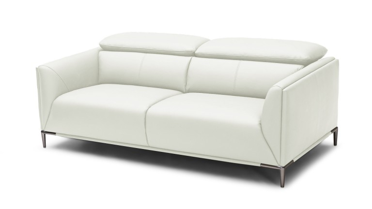 canape 3places dossier modulable cuir pvc blanc9715 akano mobiliermoss