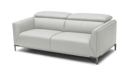 canape 3places dossier modulable cuir pvc gris9015 akano mobiliermoss