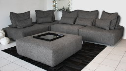 canape 5places modulable tissu C 293 dossier deplacable larvik mobiliermoss