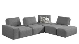 Canape angle composition modules tissu k21 ikalis mobiliermoss