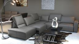 canape angle cuir modulable gris vaena ambiance mobiliermoss