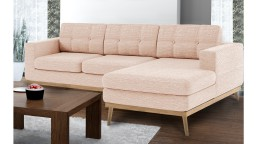 canape angle droit capitone scandinave tissu rose79 tolbon mobiliermoss
