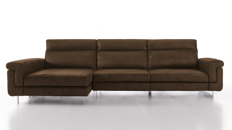 canape angle gauche meridienne relax tissu choco canelo mobiliermoss