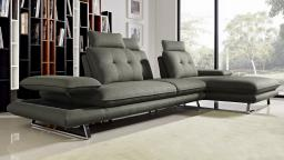 canape angle droit relax tissu dossier modulable L04 kosveg mobiliermoss