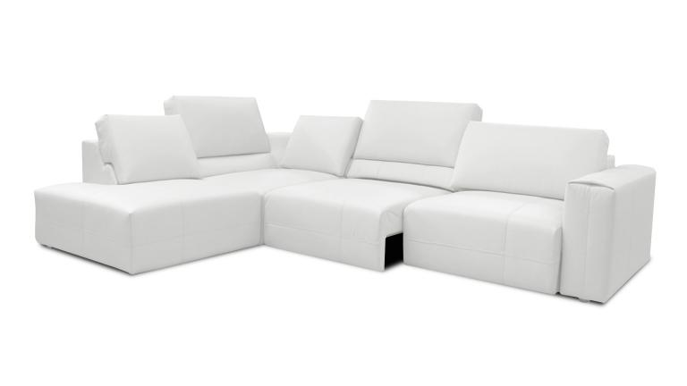 canape angle gauche cuir relax blanc dossier coulissant vaena mobiliermoss