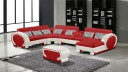 canape angle gauche panoramique assise rouge626 cote blanc782 okyo mobiliermoss