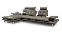 canape angle gauche relax imitation cuir dossier modulable taupe02 kosveg mobiliermoss