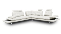 canape angle relax similicuir blanc kosveg mobiliermoss