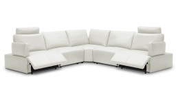 canape angle relaxation electrique cuir blanc 9715 dyle 2 mobiliermoss