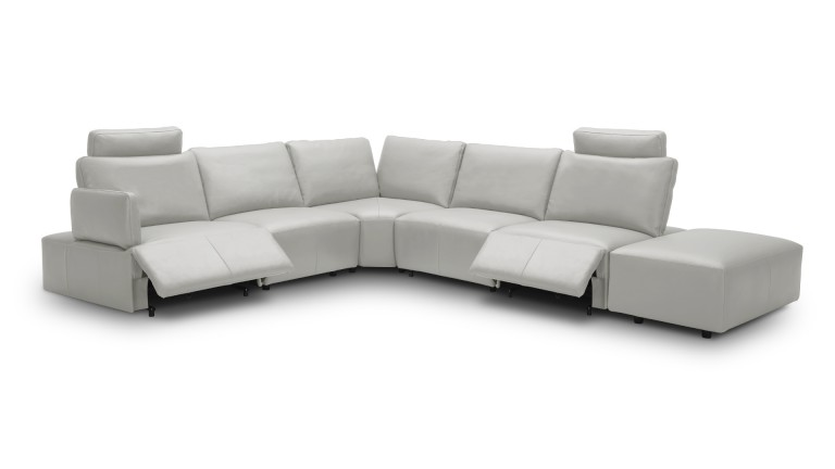 canape angle relaxation electrique cuir gris9015 dyle 1 mobiliermoss