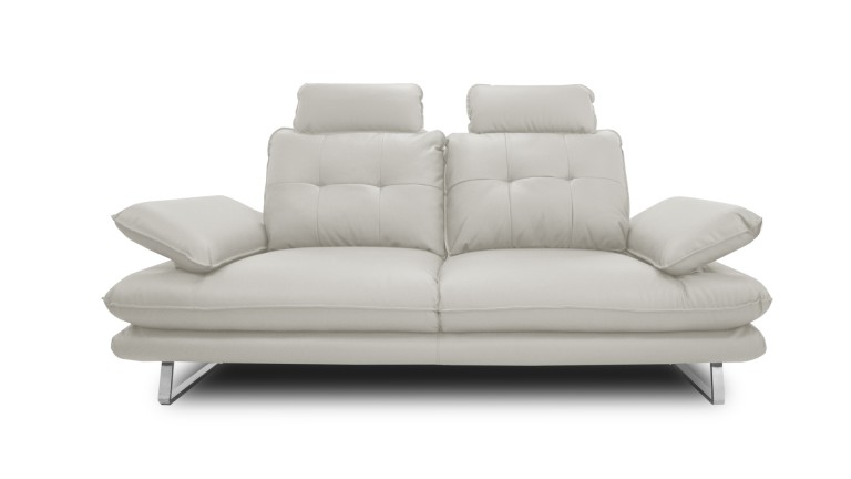 Sof relax 2 plazas de polipiel con respaldo modulable for Sofa 2 plazas polipiel