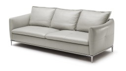 canape cuir 3places gris perle 9015 halden mobiliermoss