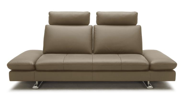 canape cuir design modulable 3places taupe9922 minho face mobiliermoss