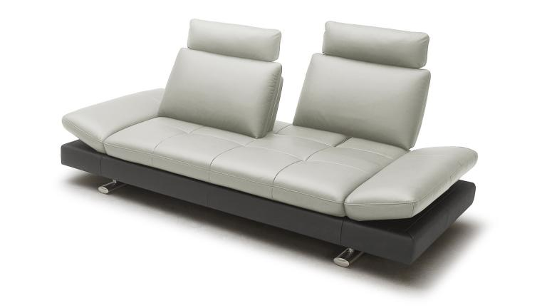 Canap cuir minho 2 places mobilier moss for Black friday chaise longue